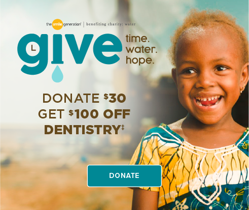 Donate $30, Get $100 Off Dentistry - Lafayette Modern Dentistry